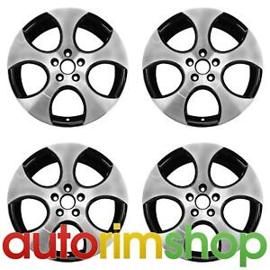 New 18 Replacement Wheels Rims For Vw Golf Gli Gti Jetta Set Detroit Machined W