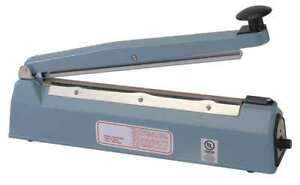 2led7 Hand Operated Bag Sealer Table Top 20in