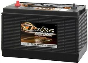 Deka Genuine New Dp31cs 12volt Battery 860amp Cranking Power group 31