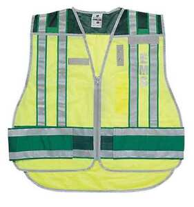 M To Xl Ems Safety Vest Lime Zoro Select 4006bz m xl
