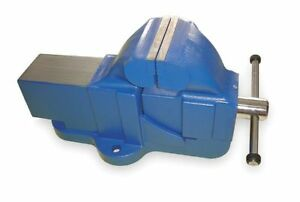 Westward 3fdj1 5 Heavy Duty Combination Bench Vise With Stationary Base