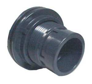 Bulkhead Tank Fitting 1 1 4 In pvc Spears 8171 012