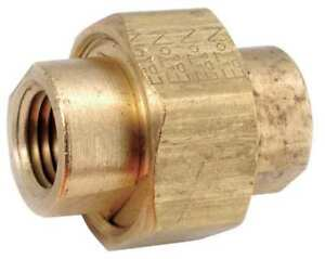 3 8 Fnpt Brass Union 706104 06