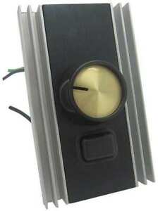 Speed Control adjustable rotary 120v 8a Dayton 22pp73