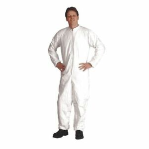 Tyvek Isoclean Coverall white elastic 2xl pk25 Dupont Ic182bwh2x00250c