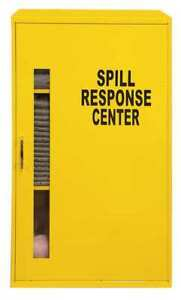 Spill Control Cabinet Yellow Yellow Brady Spc Absorbents Sc cabinet