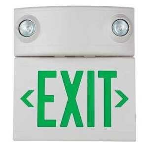 Hubbell Lighting Duallite Led Exit Sign emergency Lights