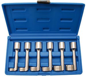 1300 bgs Special 6 Piece Socket Set 12 19 Mm For Pipe Fittings 1 2 Inch Drive