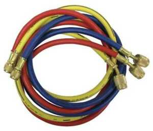 Manifold Hose Set 60 In red yellow blue Imperial 905 mrs