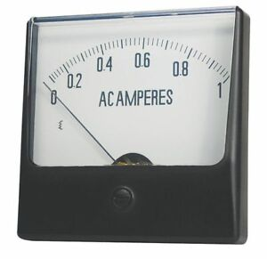 Analog Panel Meter dc Current 0 100 Dc A Zoro Select 12g428