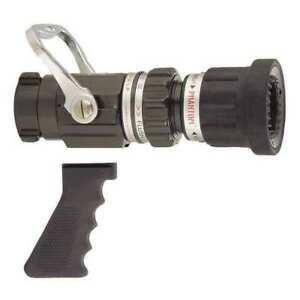 Elkhart Brass Sfm hpg Fire Hose Nozzle 1 1 2 In black