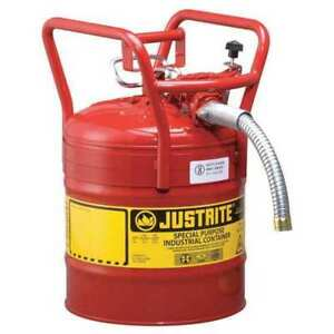 Type Ii Dot Safety Can red 18 1 4 In H Justrite 7350130