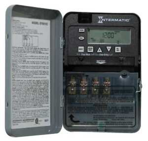 Electronic Timer 7 Days spst Intermatic Et1725cr