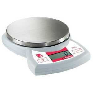 Digital Compact Bench Scale 4 4 Lb 2kg Capacity Ohaus Cs2000p