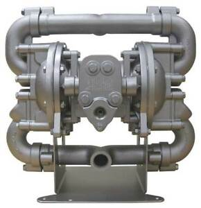 1 Aluminum Air Double Diaphragm Pump 70 Gpm 190f Sandpiper Hdf1 db2a