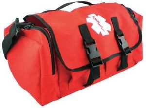 Trauma Response Bag red Medsource Ms b3303