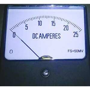 Dc Current Analog Panel Meter 12g420