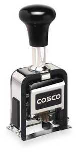 Self inking Numbering Machine Stamp Cosco 038731
