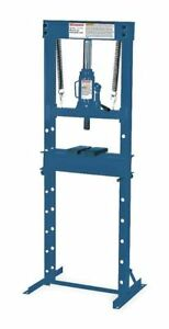 Hydraulic Economy Shop Press 12 Ton Westward 1mzj5