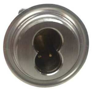 Rim Cylinder Brushed Chrome 7 Pins Delta Lock G Ei1375ststbc Xx2