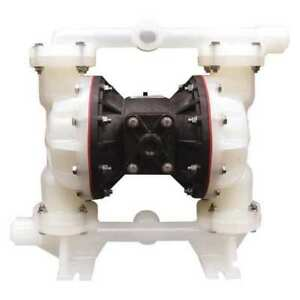 Sandpiper 1 Air Double Diaphragm Pump 53 Gpm 180f S1fb3p1ppni000