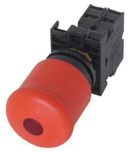Illuminated Emergency Stop Push Button Eaton M22 pvl k01 r