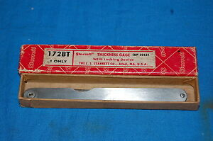 Starrett No 172b Thickness Gage With 8 Leaves make Offer free Shipping