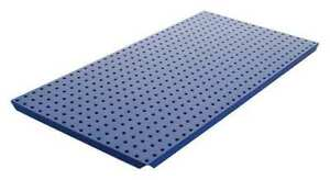 Pegboard 16in hx32in w metal blue pk2