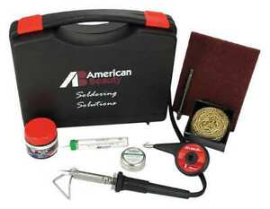 Soldering Kit 50w iron Plated Copper Tip American Beauty Psk50