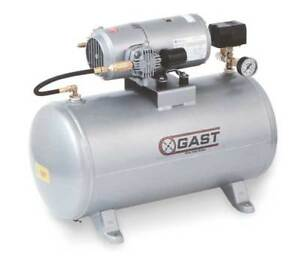 Electric Air Compressor tank Mounted