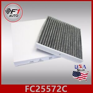 Fc25572c Carbon Cabin Air Filter For 2009 2010 2011 2012 2013 Ford Mustang