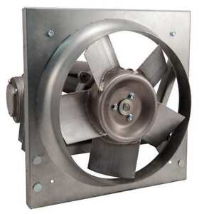 Panel Exhaust Fan 12in 115 208 230v Dayton 32zn53
