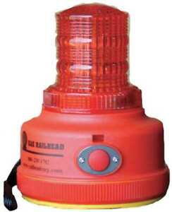 Warning Light red led 2 D Batteries Railhead Gear M100r led