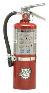 Buckeye 13514 Fire Extinguisher 40b c Dry Chemical 5 1 2 Lb 17 h