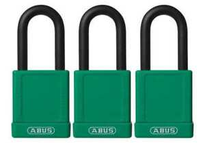Lockout Padlock ka green 1 3 4 h pk3 Abus 74 40 Kax3 Green