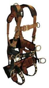 Brown Tower Climb Full Body Harness Ctech 6d G7084m Falltech