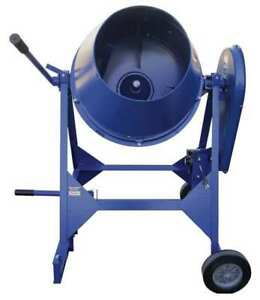 Marshalltown Mix61111 Concrete Mixer 3 Cu Ft Electric 1 2hp