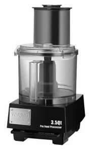 Batch Bowl Food Processor Gray waring Commercial Wfp14sgr