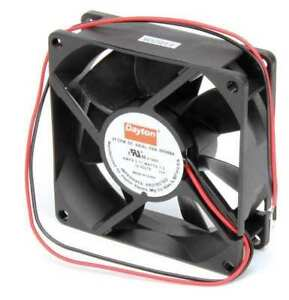 3 1 8 Square Axial Fan 12vdc Dayton 6kd68