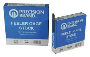 Feeler Gauge high Carbon Steel 0 0050 In Precision Brand 19265