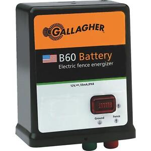 Gallager 40 Acre 5 Mile Battery solar Electric Fence Fencer Charger G351504