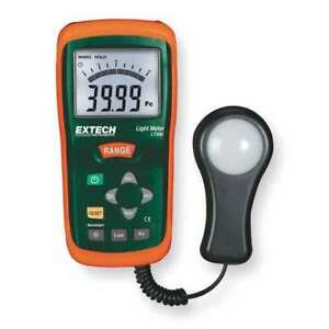 Extech Lt300 Light Meter 0 To 40k Fc 0 To 400k Lux