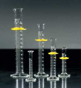 Graduated Cylinders glass clear pk5 Kimble Kimax 20024 01