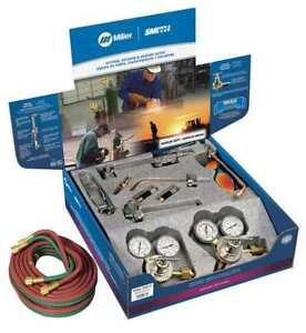 Medium Duty Toolbox Outfit acetylene Miller Electric Mba 30510
