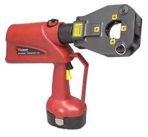 Battery Operated Dieless Crimping Tool Burndy Pat81kft18v