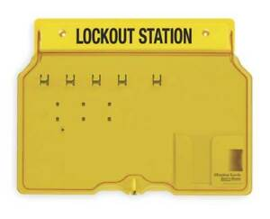 Master Lock 1482b Lockout Station Unfilled 12 1 4 In H