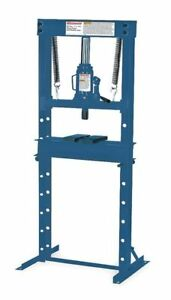 Westward 1mzj6 Hydraulic Economy Shop Press 20 Tons