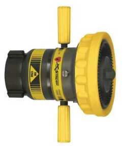 Elkhart Brass Sm 1250b Fire Hose Nozzle 2 1 2 In yellow