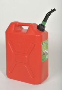 05086 Plastic Fuel Can 5 Gal
