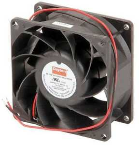 3 1 8 Square Axial Fan 12vdc Dayton 2rth4